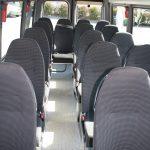 Schulbus innen Omnibusbetrieb Busch Halver